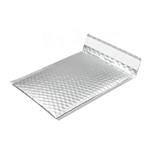 Hot Selling Tear-Proof Silver Metallic Padded Bubble Padded Mailer Envelopes