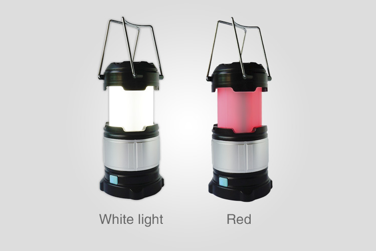 Rechargeable LED Camping Lantern and Solar Camping Light