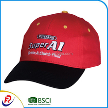Adjustable made in China wholesale newest design sports caps custom 3D embroidery cheap high quality baseball caps