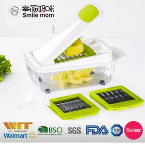 Multifunction manual slicer dicer super german vegetable chopper slicer  dicer cutter