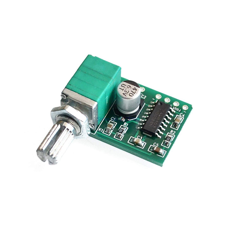 LIGHTHINKING 50pcs/lot PAM8403 Mini 5V Digital Small Power Amplifier Board (USB Supply)