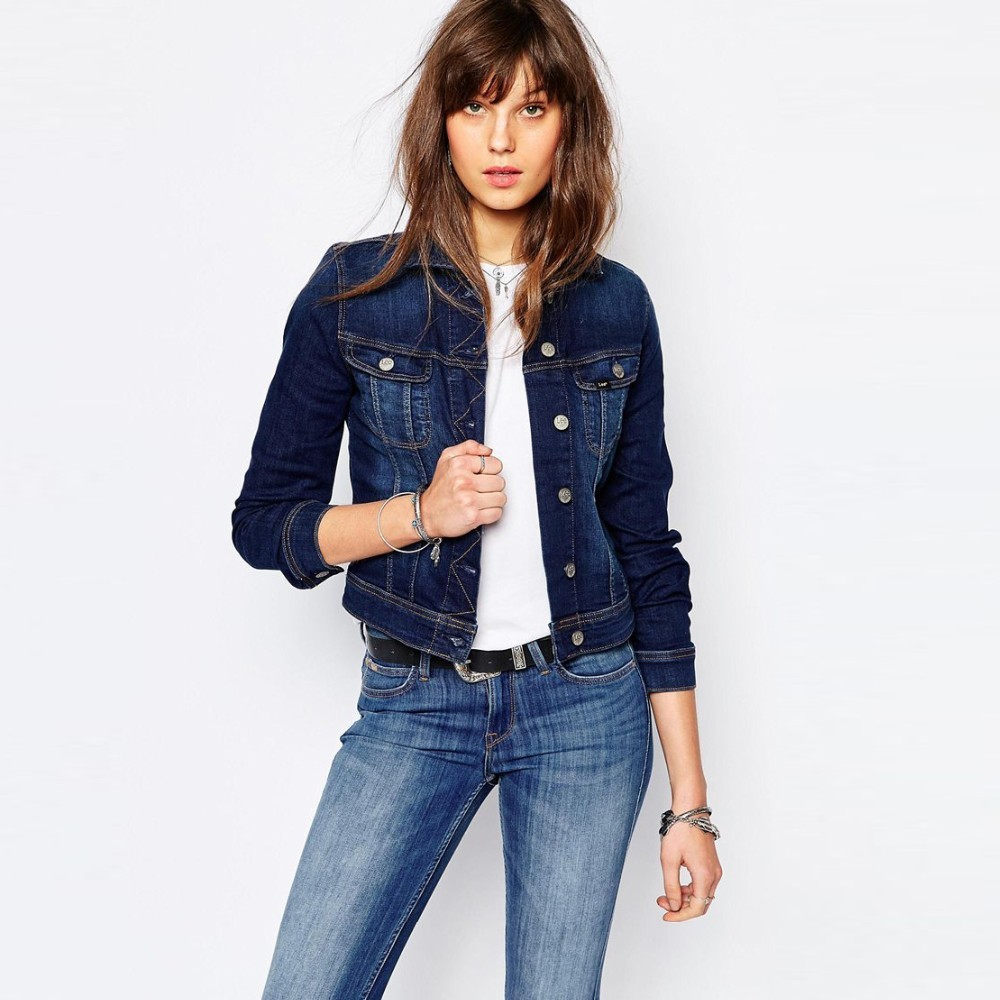 Denim jacket for womens