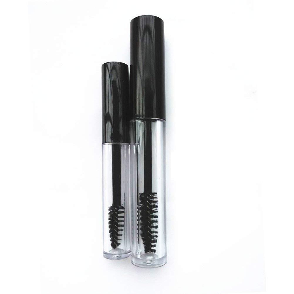 2346f20e5c9 Get Quotations · Frcolor Empty Mascara Tube Eyelash Cream Container Bottle  With Brush - 5pcs 1.5ml Mascara Tube