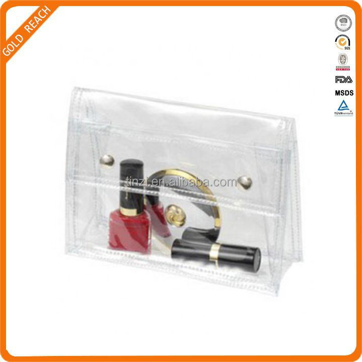 PVC Transparent Envelope Clutch Bag Handbag