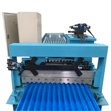<span class=keywords><strong>550</strong></span> Mpa Metalen Dakplaat Maken Stalen Dak Panel Golfkarton Roll Forming Machine