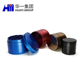 OEM fabrication service herb grinder custom weed products in different sizes