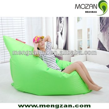 Waterproof Outdoor Big G Green Bean Bag Cushion