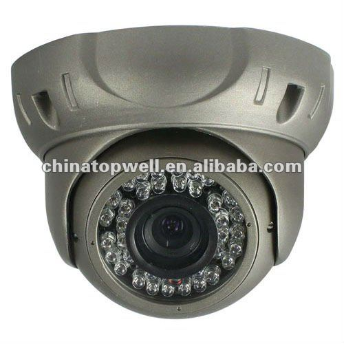 4~9mm zoom manuale 36 led ir visione notturna cctv telecamera dome