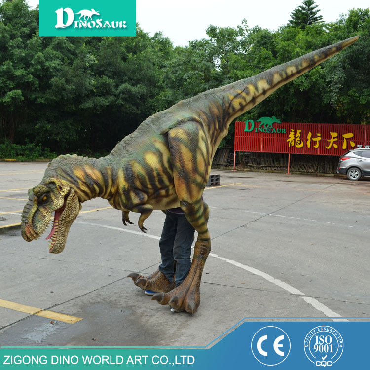 Professional factory supply Halloween costumes adult mascot dinosaur costume