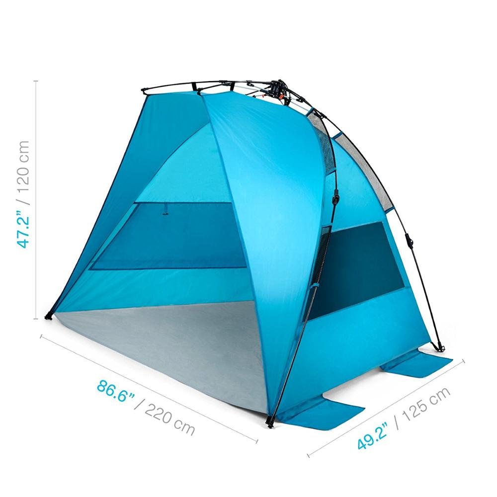 Automatic Pop Up Beach Tent Easy Sun Shelter Set Tear Down Portable Instant
