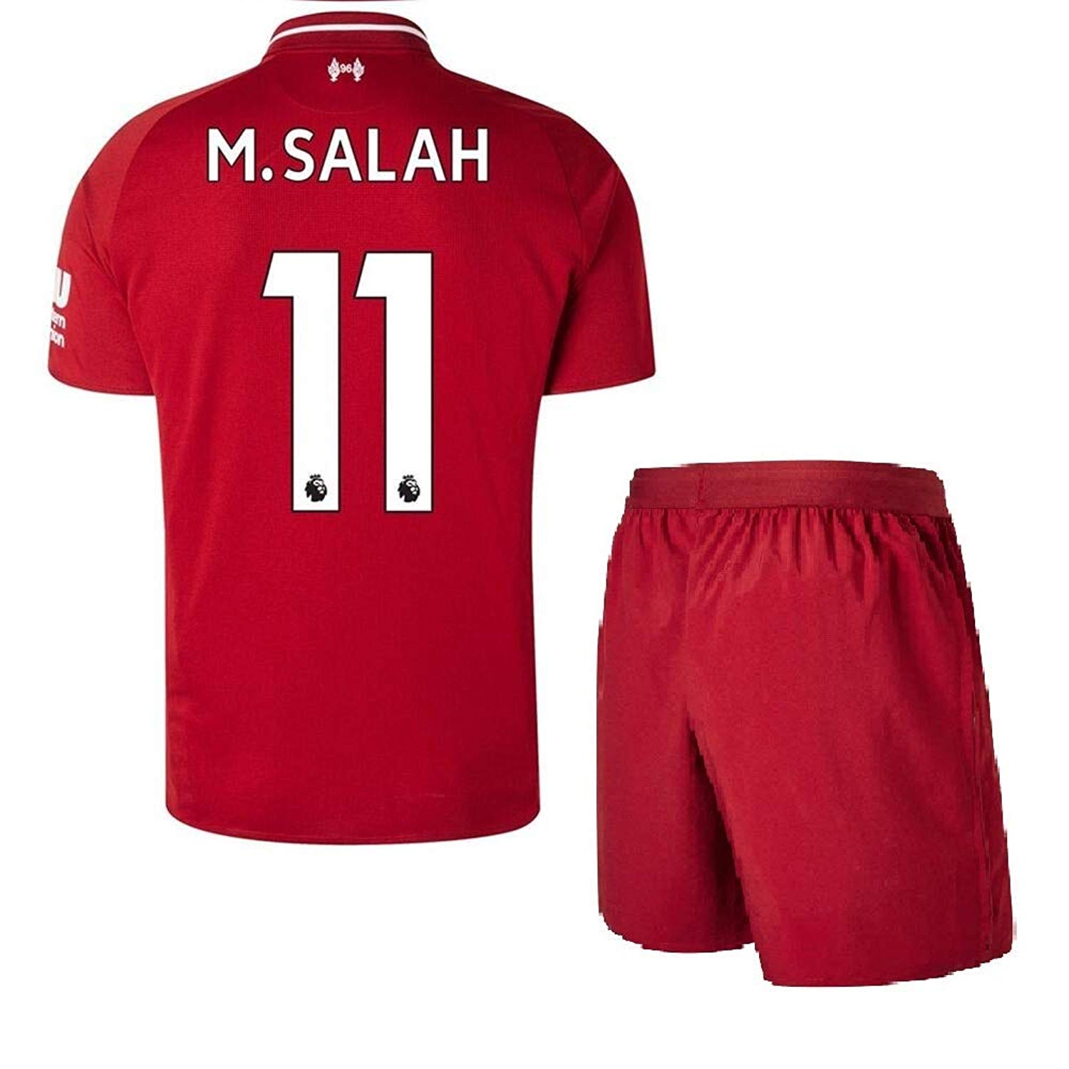 Kids Liverpool Home Jerseys #11 M Salah Jerseys 2018-2019 Soccer Jersey Red(S-XL)