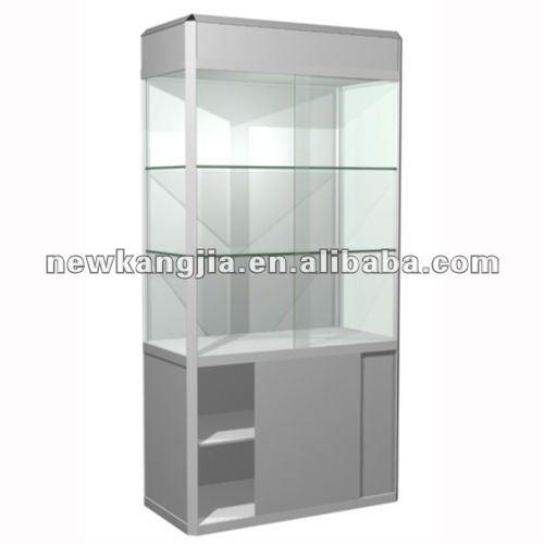 shopping glass display show case