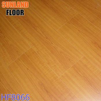 Rubber Wood Flooring Wood Grain Waterproof Laminate Flooring 1 Strip