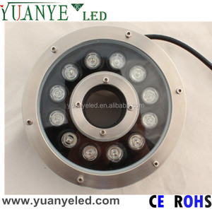 RGB DMX512 led fountain nozzle light underwater waterproof IP68