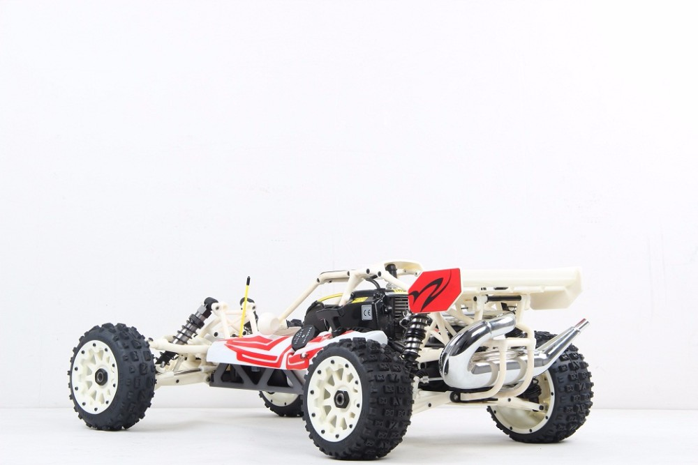 New style upgraded 1/5 scale gasoline RC BAJA High-strength Nylon 290C01 White
