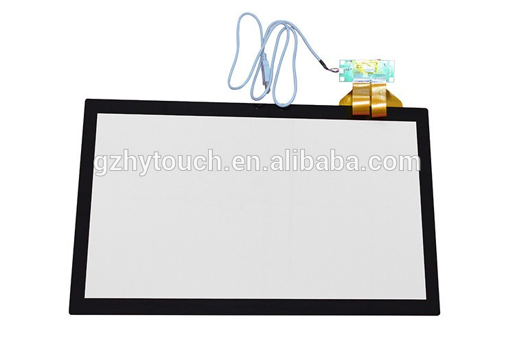 Customized 23.6 inch (high) 저 (감도 capacitive touch screen 대 한 kiosk 인터랙티브 디스플레이