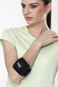 Tennis Elbow Brace Support Band – Breathable - Enhanced with Silicone Pad for Impact Absorption - X Large