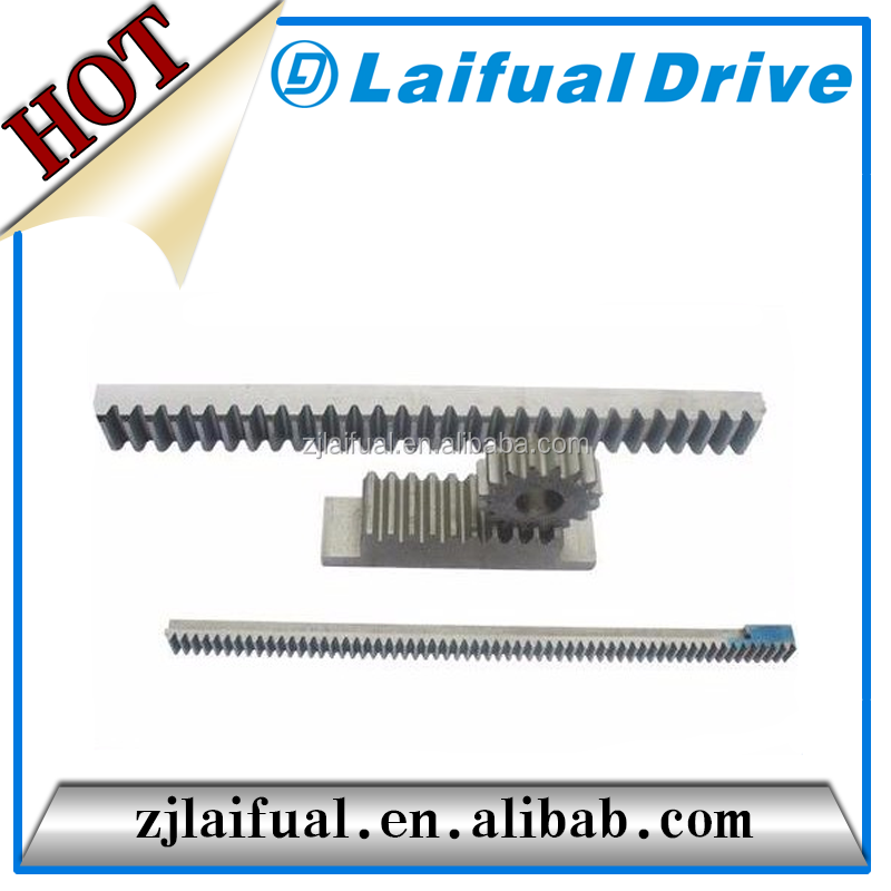 iron metal stainless aluminum gear rack machinery transmission