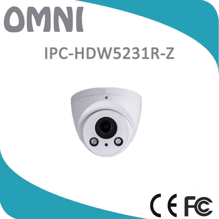 IPC-HDW5231R-Z 2MP Motorized lens Smart Face Detection WDR IR Eyeball IP Camera