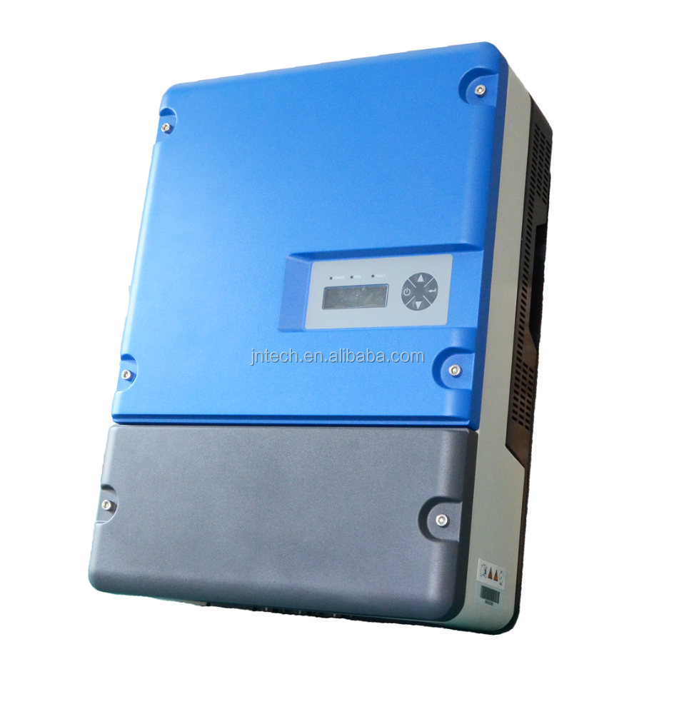 IP65 Solar dc to ac Deep well JNTECH 380V 3 Phase 30HP AC Solar Water Pump controller inverter 22KW 98% efficiency