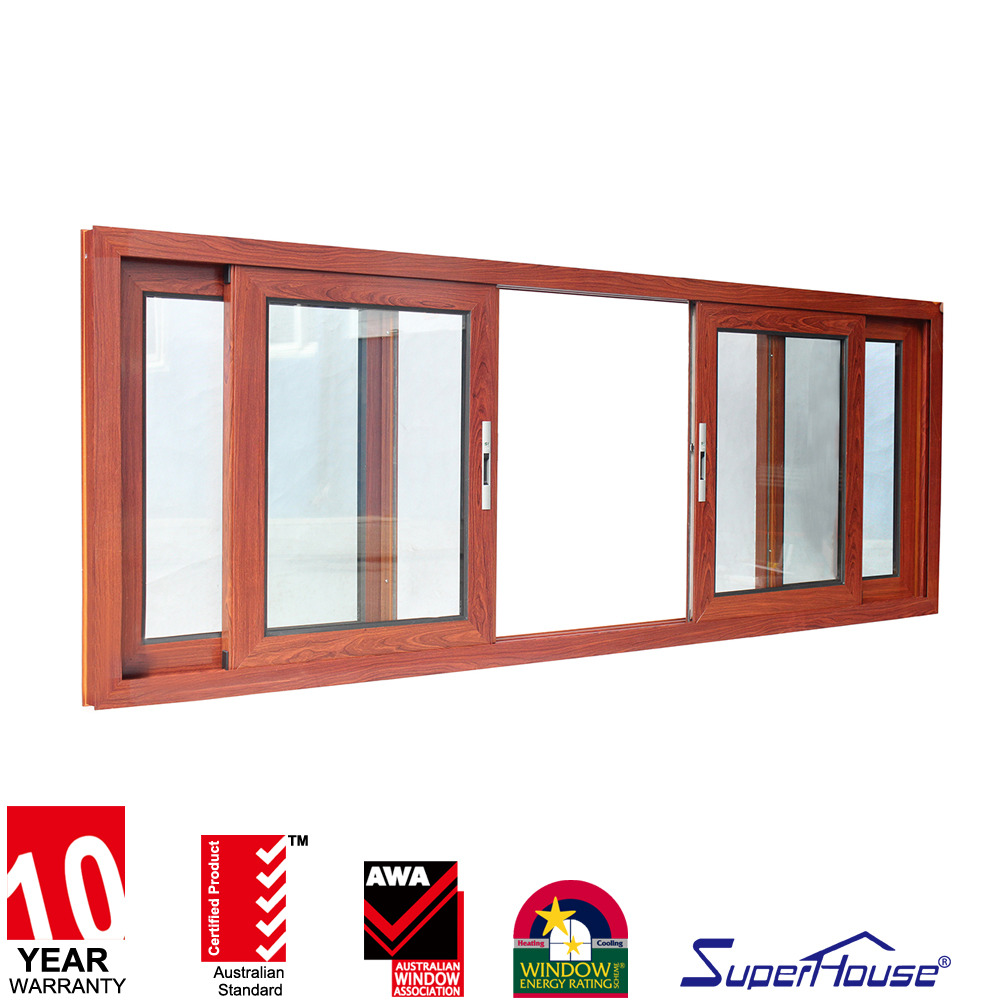 Superhouse 4 panel sliding window staker window tempered glass window price