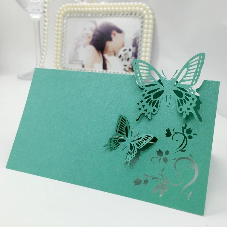 Открытка на свадьбу с бабочками, светлой пасхе