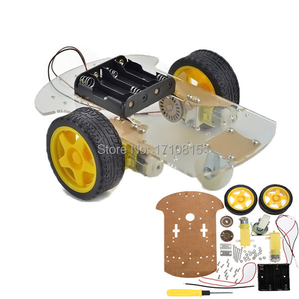 Wholesale High Quality 2wd  Motor Smart Robot Car Chassis Kit Speed Encoder