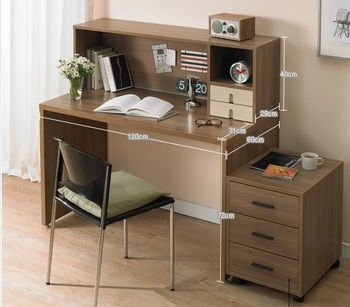 Study table designed computer table with desk direct - Computer and study table designs for home ...
