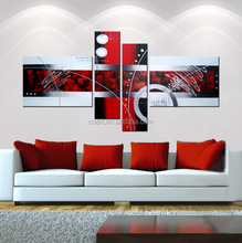 canvas frameless painting for home decoration