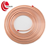 soft anneal pancake coil refrigeration copper tube for sale