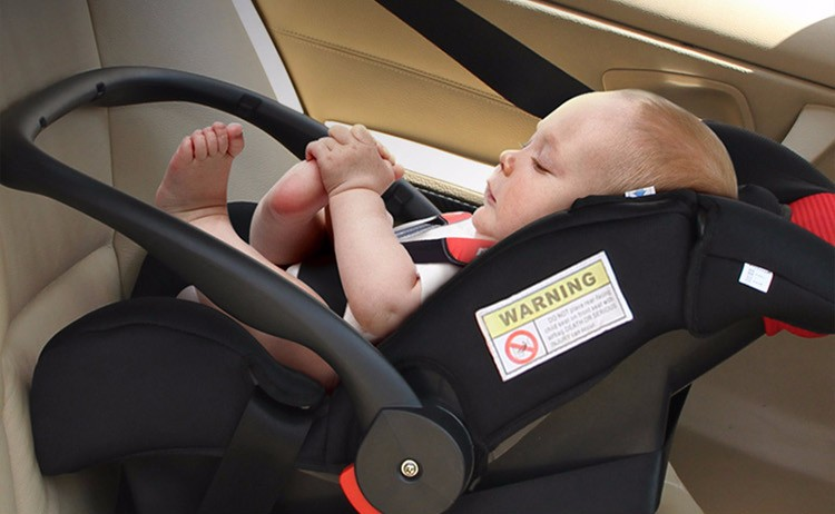 infant care in car