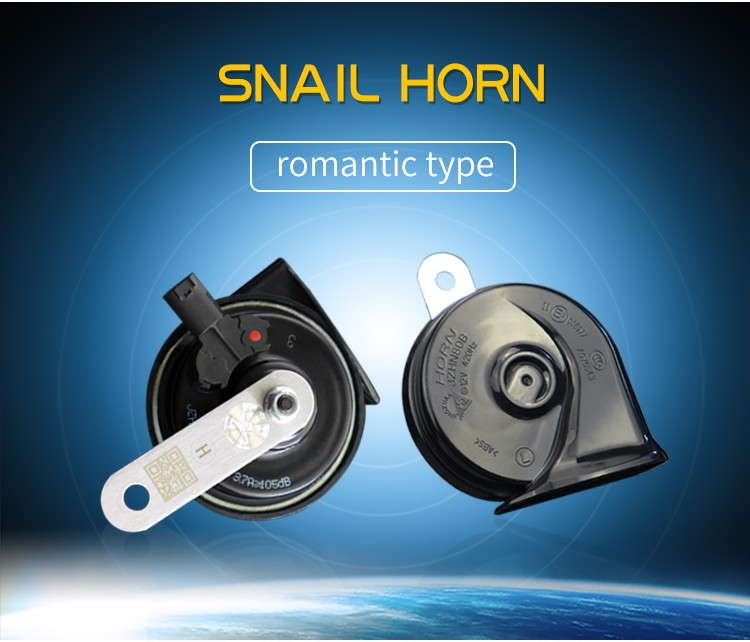 2pc Wolo Lectric Cow Horn Wolf Whistle Free Car Horn Sound Effect