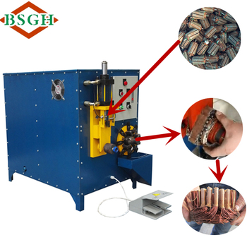 Mixed for winding and cutting recycling machine small for Electric motor recycling machine