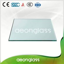 10mm clear tempered glass for solar panel