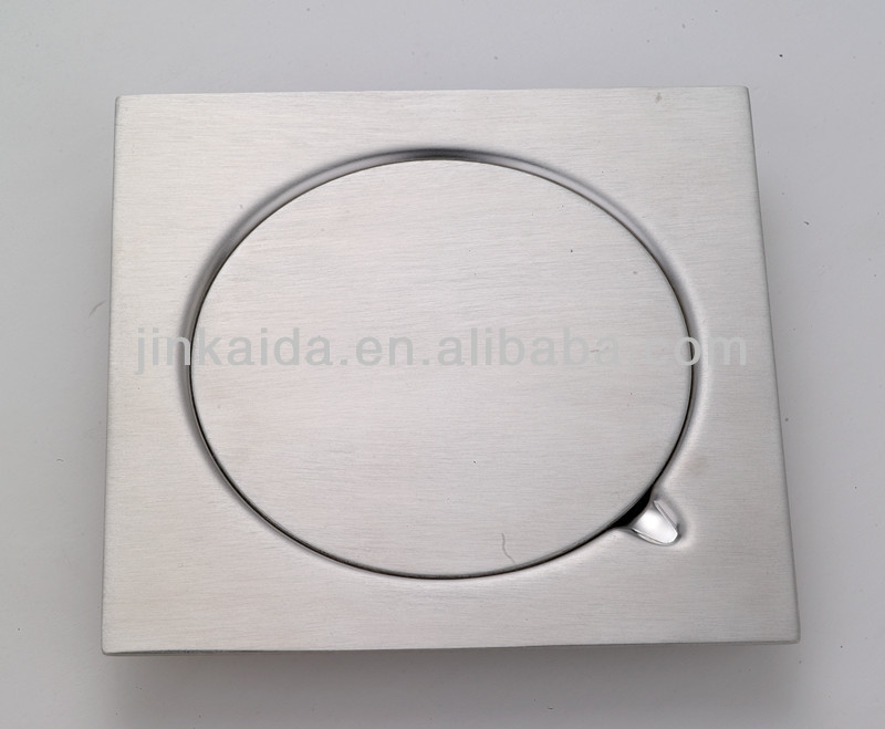 316# Stainless steel square floor drain 150*150mm SA type