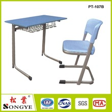 School desk tables and chairs student desks classic wooden affordable removable section