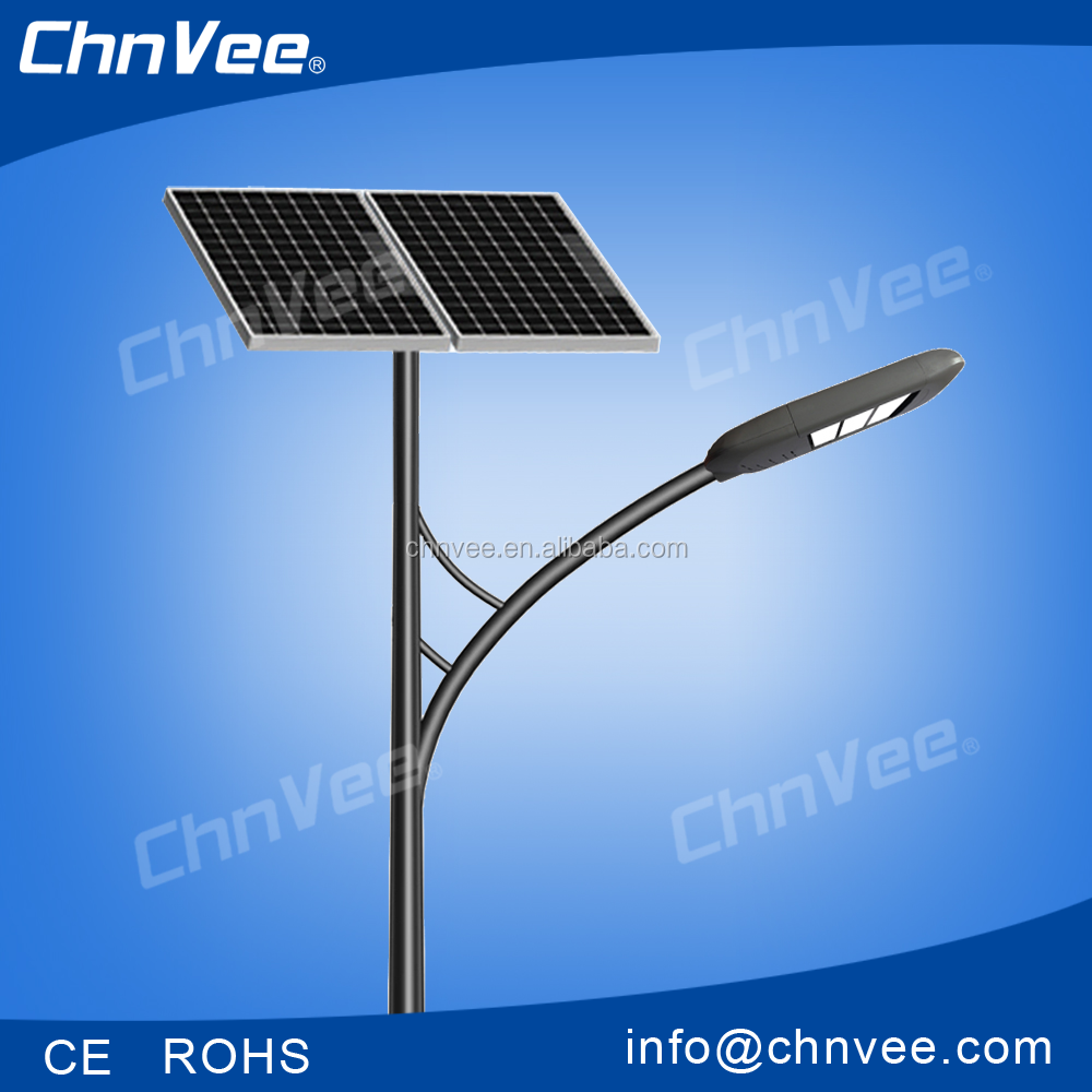 inteligent control energy saving solar power light application of solar led street lamps in road. Black Bedroom Furniture Sets. Home Design Ideas