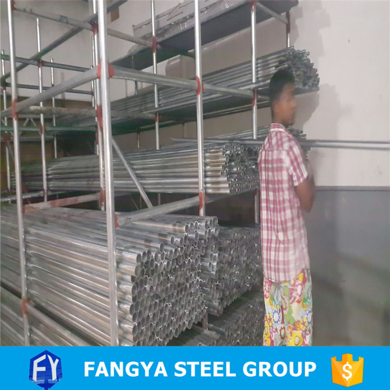 Tianjin Fangya!galvanized iron pipes cheap price crosshole sonic logging(csl) pipe