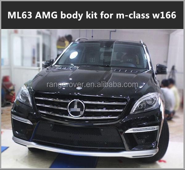 kit carrosserie pour m class w166 ml63 amg pare chocs id de produit 60413234464. Black Bedroom Furniture Sets. Home Design Ideas