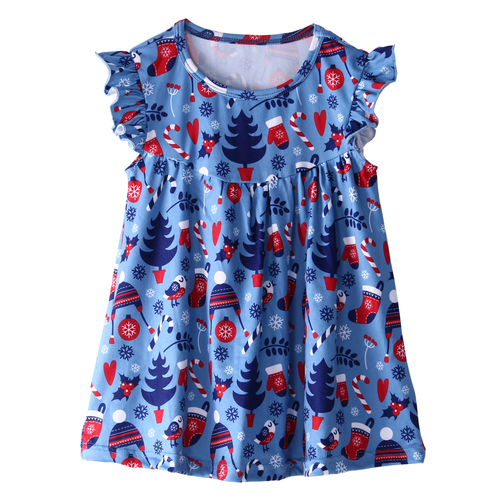2017 kaiyo new frocks designs girls wholesale party christmas baby dress