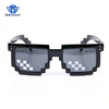 Teenyoun 2018 Men Women Party Eyewear Glasses thug life Popular Around the World 8 bits Square Mosaic Pixel Sunglasses UV400