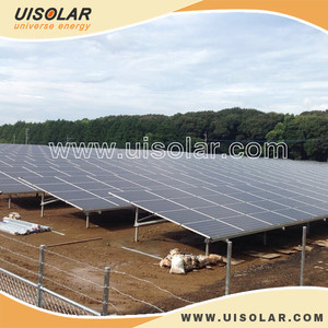 Aluminum solar ground mounting bracket for solar project