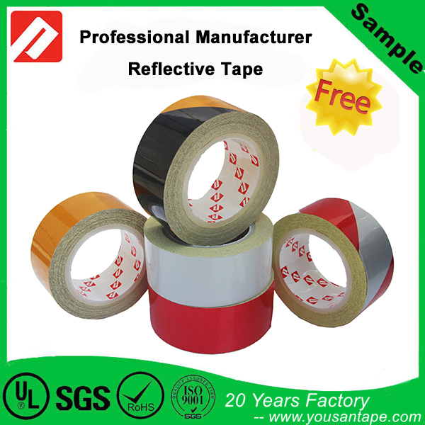 Free Samples !! Red 3M Reflective Tape for Road Safety / Truck Stickers Marking