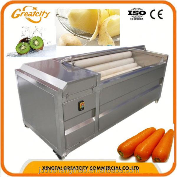 potato washer and peeler machine/taro washer and peeler machine/carrot washer and peeler machine