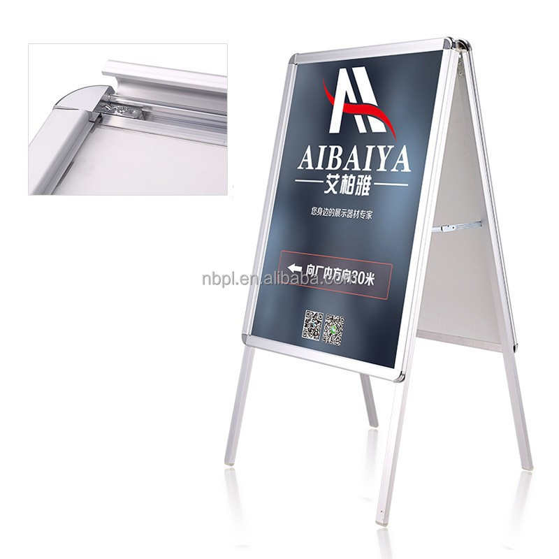 outdoor metal sign frames advertising sign boards for shop