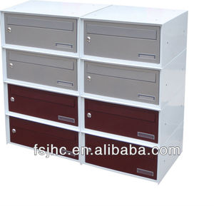 Foshan JHC Apartment Locking Metal Mailboxes/Office Letterbox/Residential Mail box