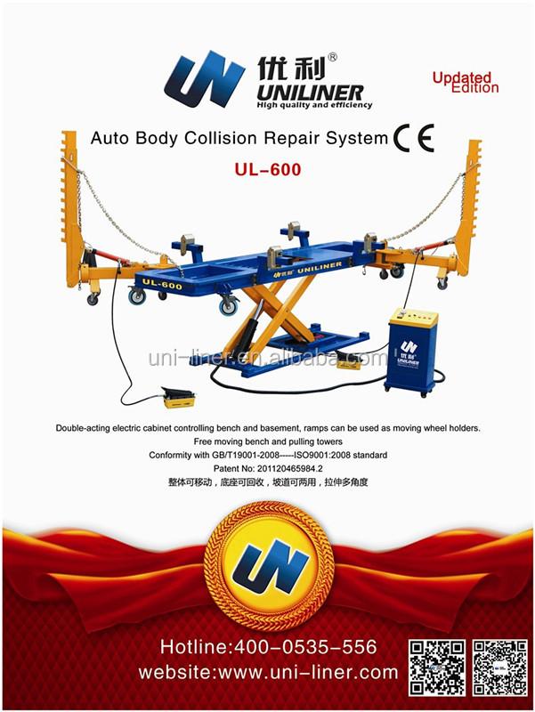 Uniliner Auto/karosserie Reparatur Von Unfallschäden Rahmen Maschine ...