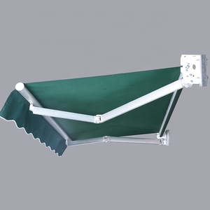 best quality Aluminum Garage Awning Parts Window Retractable Roof Sun Shade awning