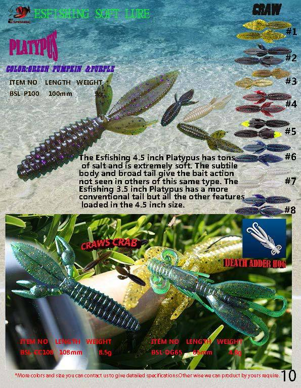 soft stick baits tiki stick & tiki bamboo simliar to wave worms, Soft Baits