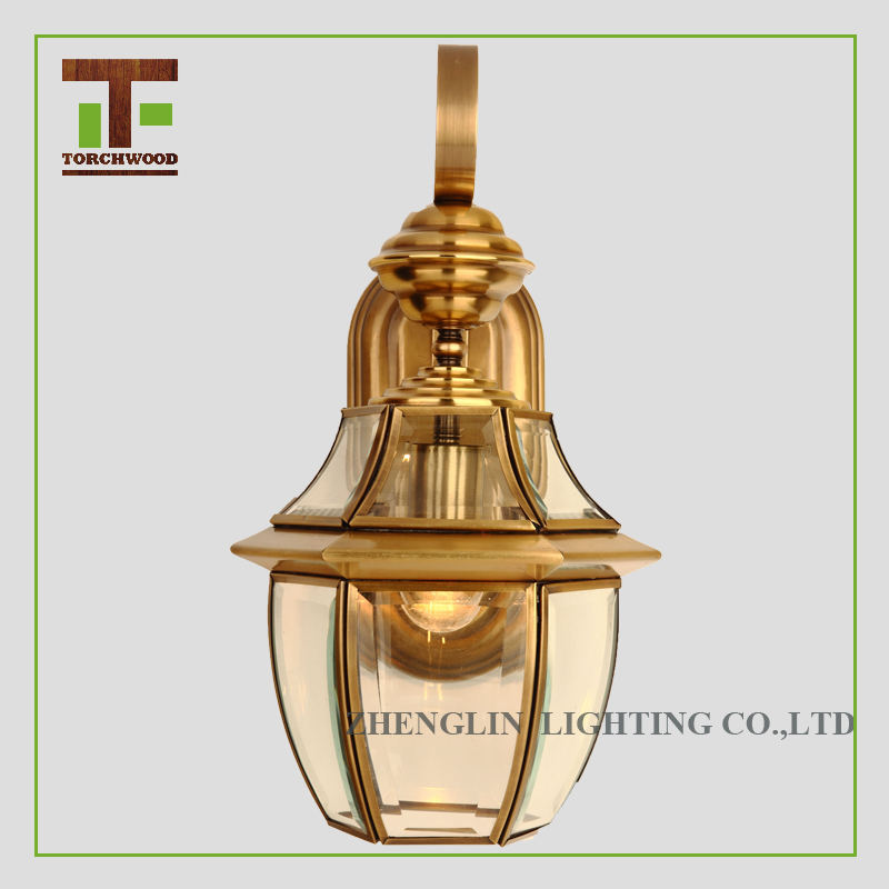 Zhongshan Suppliers Decorative Ceiling Copper Hanging Light vintage style waterproof outdoor wall lights